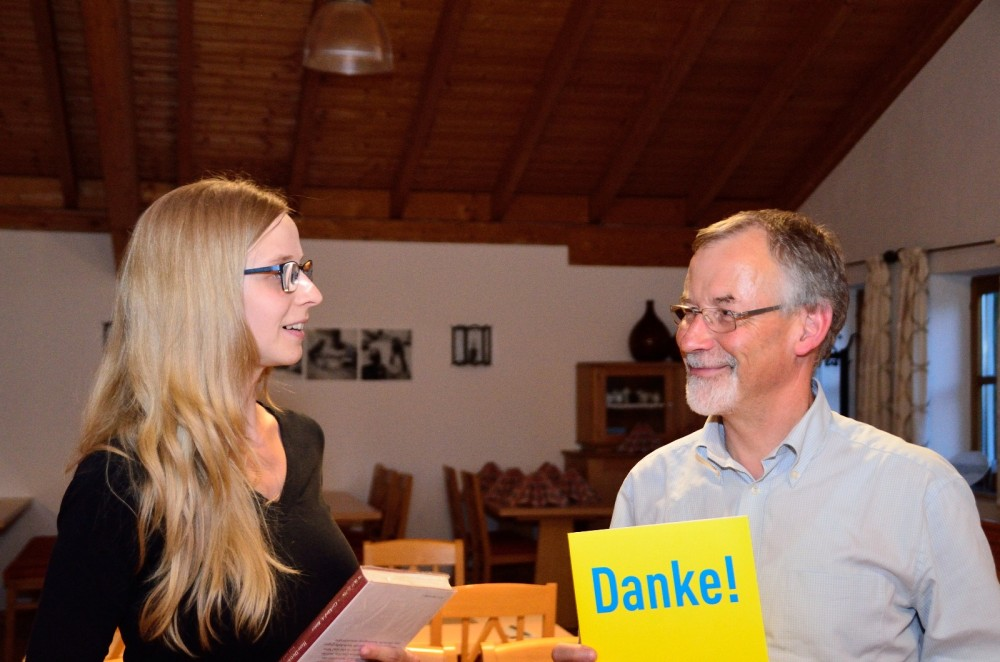 Dr. Heinz Kroiss Ehrung zu 40 Jahre FDP Parteimitgliedschaft