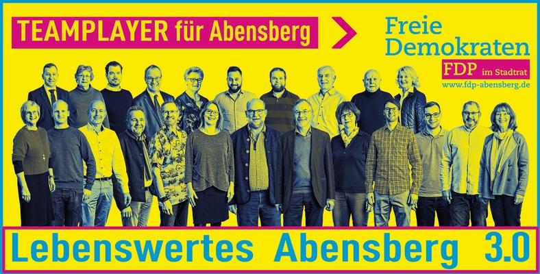 FDP Stadtratsliste Abensberg